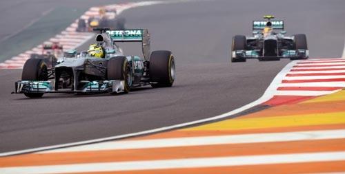 F1 - Indian GP: Phía sau vạch đích - 1