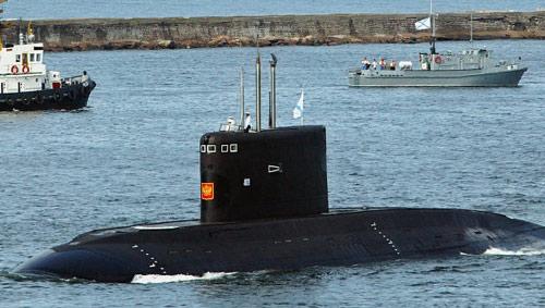 Việt Nam sẽ nhận tàu ngầm Hà Nội vào ngày 7/11 - 1
