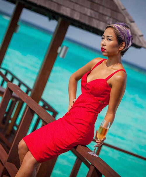 Thảo Trang nóng bỏng tại Maldives - 1