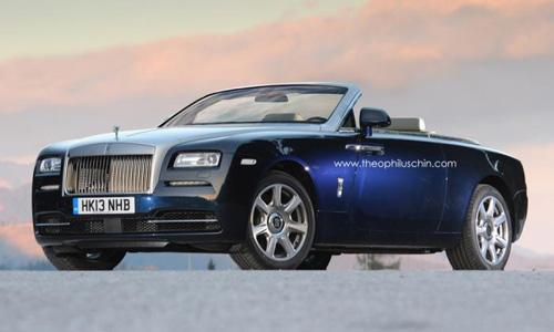 Rolls Royce Wraith mui trần ra mắt 2015 - 1