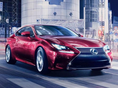 Lexus ra mắt xe hai cửa RC Coupe - 1