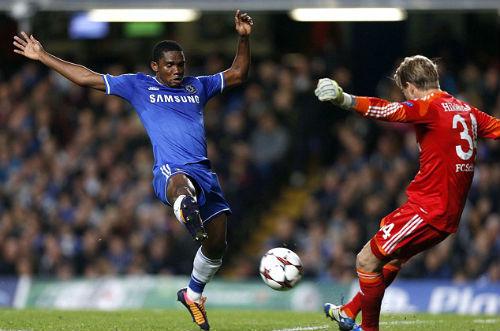 "Mourinho thán phục pha "" ăn cắp""của Eto'o - 1"