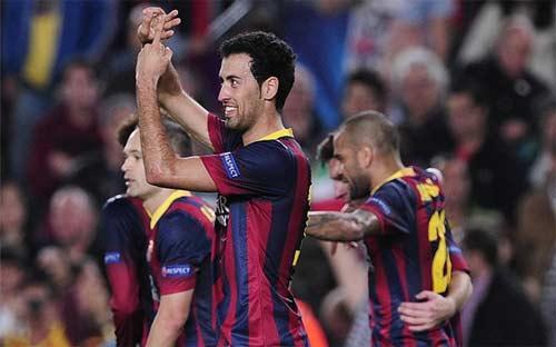 Sau lượt 4 cúp C1: Bayern, Barca đi tiếp - 1