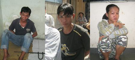 Hiệp sĩ Sài Gòn bắt 3 tên trộm ở shop thời trang - 1