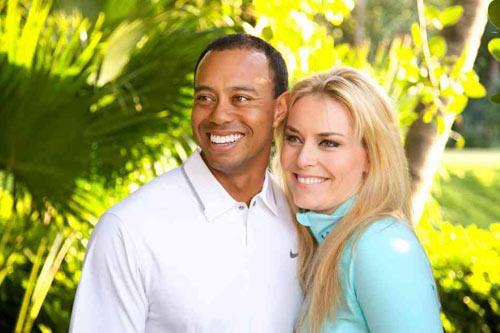 Bạn gái gọi Tiger Woods là chàng ngốc - 1