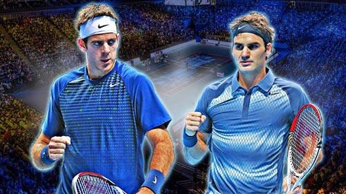 Federer - Del Potro: Kịch tính phút chót (Bảng B World Tour Finals) - 1