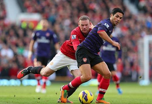 Nhà cái: Persie ghi bàn, MU hạ Arsenal - 1
