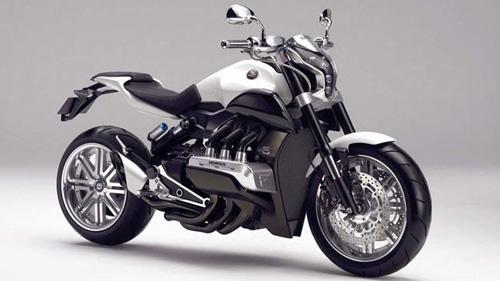 Honda Gold Wing có phiên bản naked bike - 1