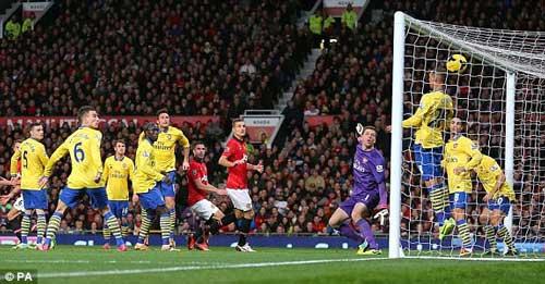 Hạ Arsenal, MU muốn lên số 1 vào 1/2014 - 1