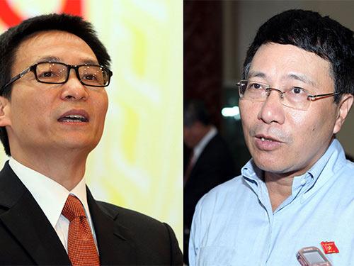 Trong tuần này, Quốc hội bầu 2 Phó Thủ tướng - 1