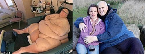 """Giảm được hơn 300 kg và """"cuỗm"""" được người yêu - 1"""