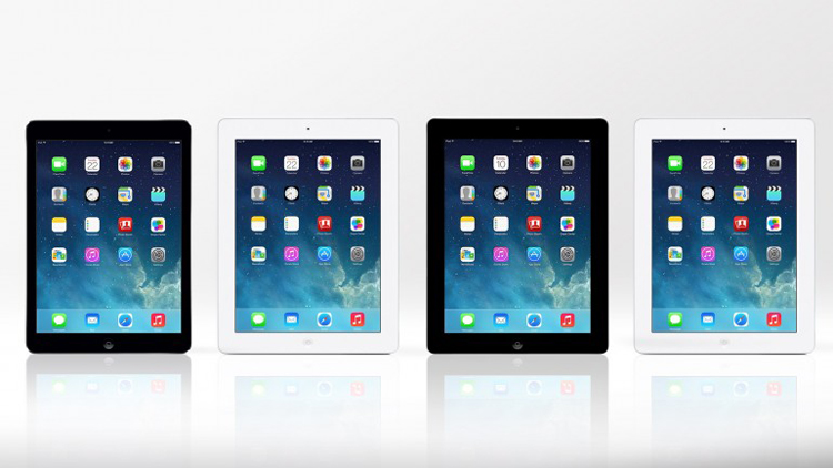 Chiếc máy tính bảng iPad Air mới của Apple có thiết kế mỏng, nhẹ cùng hiệu suất mạnh mẽ hơn so với 'những bậc tiền bối' và đã được bày bán tại hơn 30 quốc gia từ ngày 1/11.