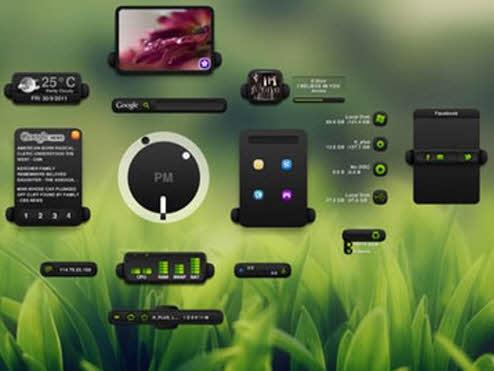 Màn hình desktop thật lộng lẫy với XWidget - 1