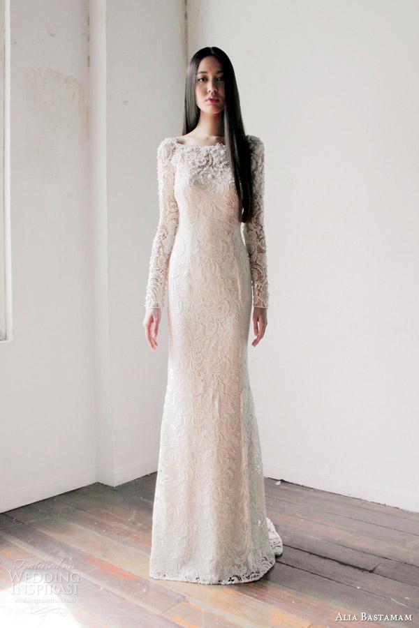 Váy cưới dài tay dành riêng cho mùa lạnh - 1
