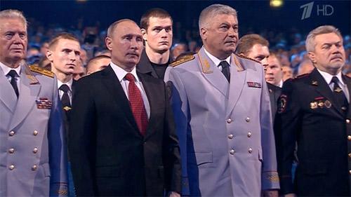 Putin rơi lệ trong Ngày Cảnh sát Nga - 1