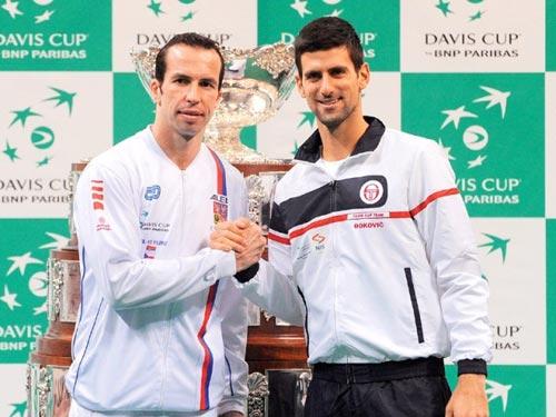 Djokovic - Stepanek: Khởi đầu nan (CK Davis Cup, ngày 1) - 1