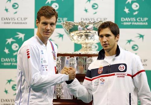 Lajovic - Berdych: Choáng ngợp (CK Davis Cup, ngày 1) - 1