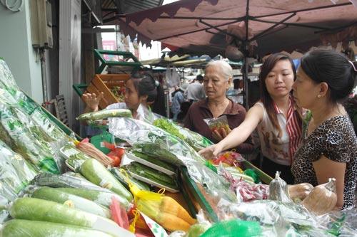 Rau VietGAP ra chợ - 1