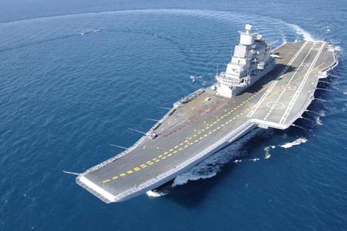 Ấn Độ tiếp nhận siêu tàu sân bay 2,3 tỉ USD - 1
