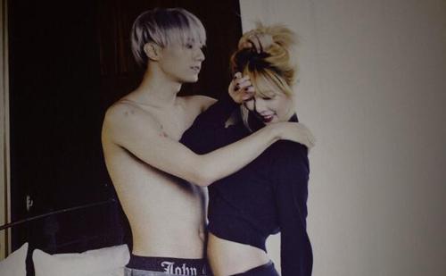 """Lộ ảnh """"cấm"""" của cặp đôi hot nhất K-Pop - 1"""