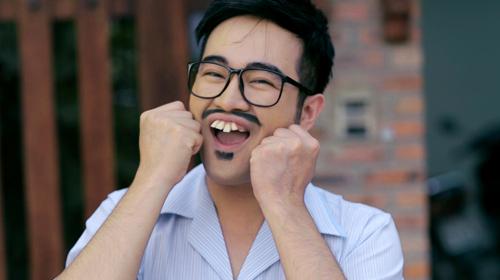 """Minh Quân hóa """"ông bố răng vổ"""" - 1"""