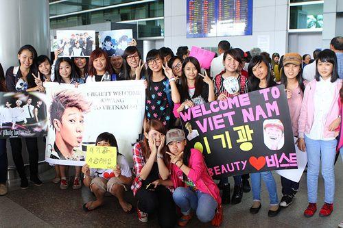 Kikwang (BEAST) vượt vòng vây fan Việt - 1