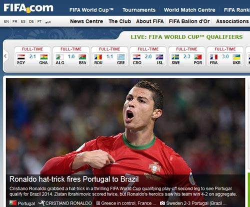 """Thế giới """"nghiêng mình"""" trước Ronaldo - 1"""
