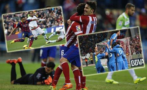 La Liga sau vòng 14: Top 3 đại thắng - 1