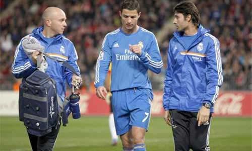 Ronaldo không đá trận gặp Galatasaray - 1