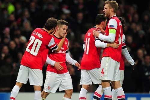Arsenal: Run rẩy trước lượt cuối - 1