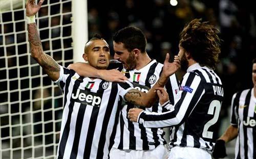 Juventus – Copenhagen: Ngôi sao Vidal - 1