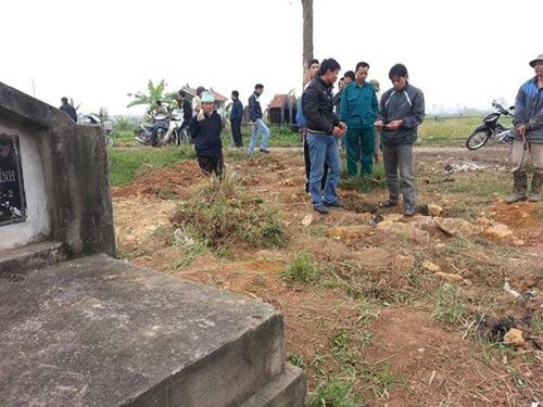 Hưng Yên: Dân bức xúc vì mộ cổ bị đào trộm - 1
