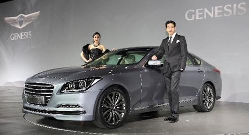 Hyundai Genesis 2014 trình làng với bốn động cơ - 1