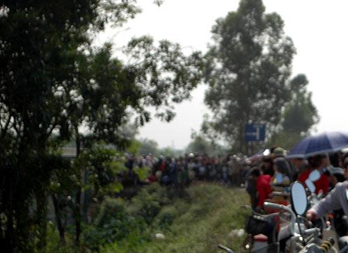 Hà Nội: Xác người bị đốt bên bờ sông Nhuệ - 1