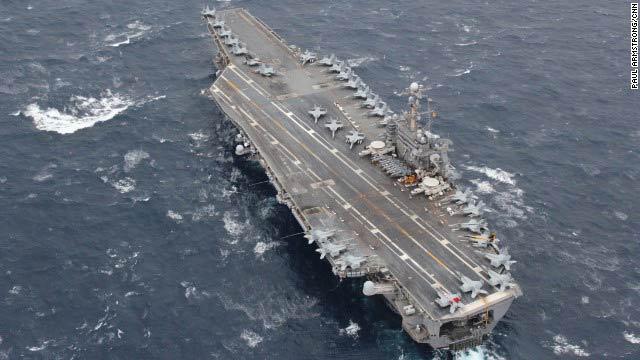 Ảnh: Mỹ-Nhật rầm rộ diễn tập trên biển Hoa Đông - 1