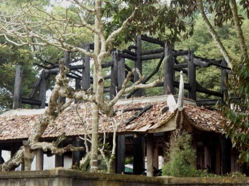 Đền thờ Lê Lai cháy rụi trong đêm - 1