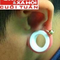 Thú chơi nong tai, xẻ lưỡi của giới trẻ Hà thành