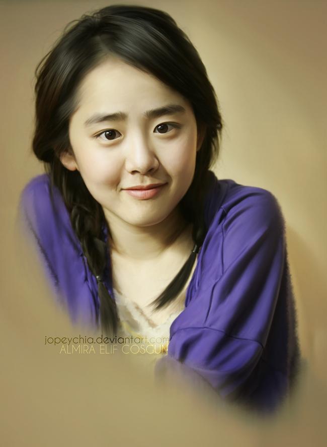Sinh năm 1987, năm nay đã 26 tuổi song Moon Geun Young vẫn sở hữu khuôn mặt dễ thương