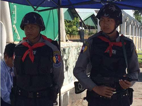 14.000 cảnh sát bảo vệ SEA Games 2013 - 1