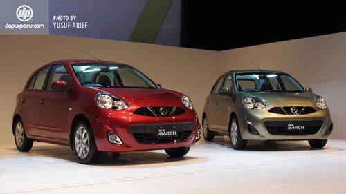 Xe giá rẻ Nissan March 2014 chính thức ra mắt - 1