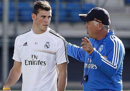 HLV Ancelotti bất ngờ về phong độ của Bale - 1