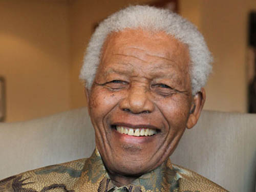 Làng giải trí thế giới thương tiếc Nelson Mandela - 1