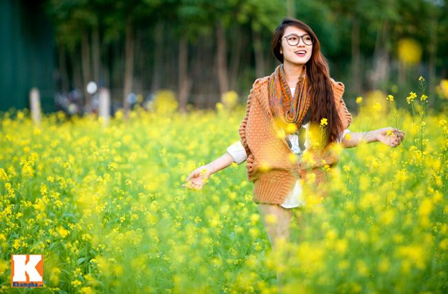 Hot girl Trang Cherry cũng không kiềm chế được trước khung cảnh tuyệt đẹp này