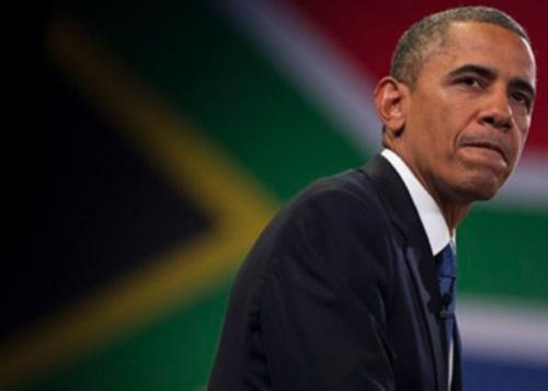 Ba đời tổng thống Mỹ đi viếng ông Mandela - 1