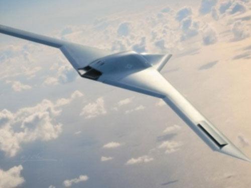 """Mỹ bí mật phát triển UAV tàng hình mới tại """"Vùng 51"""" - 1"""