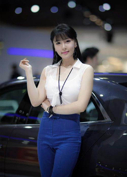 9 người mẫu ô tô nóng bỏng nhất xứ Hàn - 11