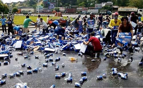Xác định được nhiều người hôi 1.400 két bia - 1
