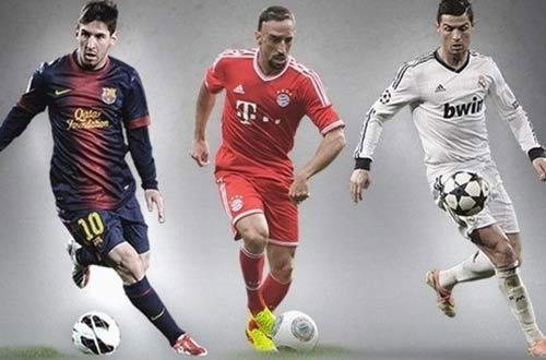 Messi, Ronaldo, Ribery vào chung kết QBV - 1