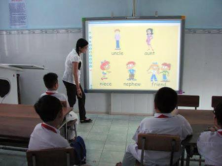 Kiểm tra việc DN tư dạy ngoại ngữ giờ chính khóa - 1