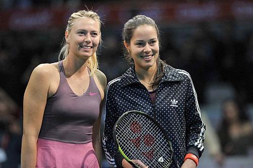 Sharapova & Ivanovic đọ tài khoe sắc - 1